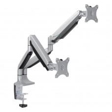 Настольное крепление для 2-x мониторов Arm Media LCD-T32 Silver