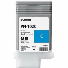 Картриджи Canon PFI-102C (0896B001)