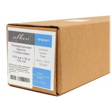 Бумага универсальная с покрытием ALBEO W120-24