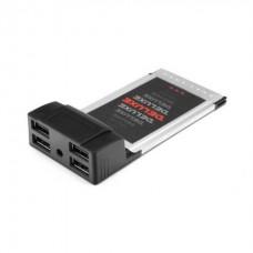 Адаптер Deluxe DLA-UH4 PCMCI Cardbus на USB HUB 4 Порта