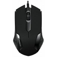 Мышь Canyon CNE-CMS02B Black USB
