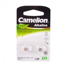 Батарейка Camelion AG0-BP2(0%Hg)