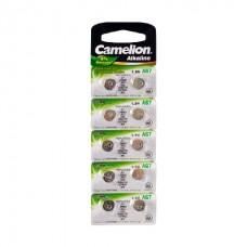 Батарейка Camelion AG7-BP10(0%Hg)
