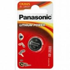 Батарейка Panasonic CR-2025EL/1B