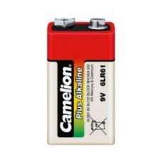 Батарейка Camelion 6F22  6LR61-BP1, Plus Alkaline, 9V