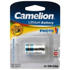 Батарейка Camelion CR123A-BP1 для фото-техники