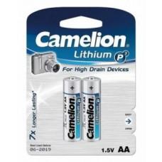 Батарейка Camelion AA  FR6-BP2, Lithium P7, 1.5V