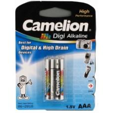 Батарейка Camelion AAA  LR03-BP2DG, Digi Alkaline, 1.5V