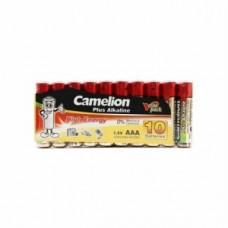 Батарейка Camelion AAA  LR03-SP10-DA, Plus Alkaline, 1.5V