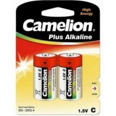Батарейка Camelion C  LR14-BP2, Plus Alkaline, 1.5V