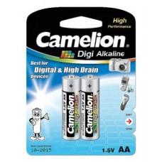 Батарейка Camelion AA  LR6-BP2DG, Digi Alkaline, 1.5V