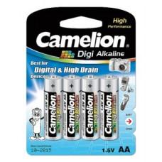 Батарейка Camelion AA  LR6-BP4DG, Digi Alkaline, 1.5V