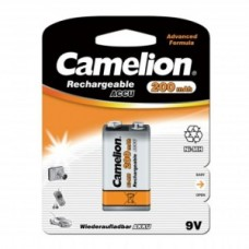Аккумулятор Camelion 6F22  NH-9V250BP1, Rechargeable, 9V