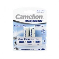 Аккумулятор Camelion AA  NH-AA2300ARBP2, AlwaysReady Rechargeable, 1.2V