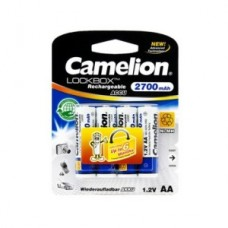 Аккумулятор Camelion AA  NH-AA2700LBP4, Lockbox Rechargeable, 1.2V