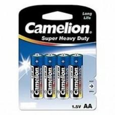 Батарейка Camelion AA  R6P-BP4B, Super Heavy Duty, 1.5V