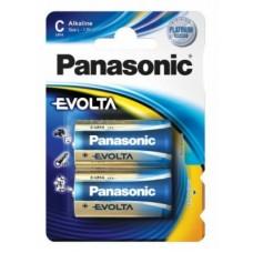 Батарейка Panasonic LR14EGE/2BP Evolta LR14EGE/2BP C