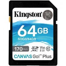 Карта памяти Kingston SDG3/64GB 64GB