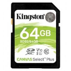 Карта памяти Kingston SDS2/64GB 64GB