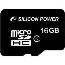 Карта памяти Silicon Power SP016GBSTHBU1V10 16GB