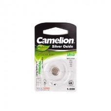 Батарейка Camelion SR43-BP1(0%Hg)